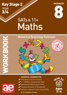 Image for KS2 Maths Year 3/4 Workbook 8 : Numerical Reasoning Technique