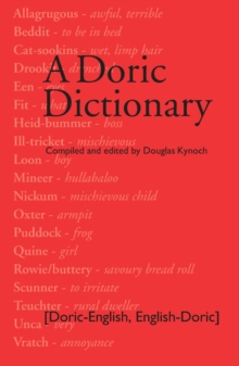 Image for Doric dictionary
