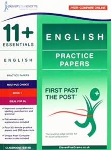 Image for 11+ ESSENTIALS ENGLISH: PRACTICE PAPERS