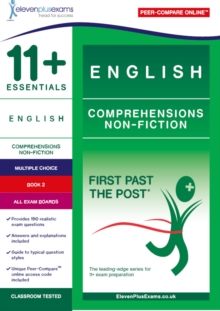 Image for 11+ Essentials English Comprehensions: Non-Fiction Book 2