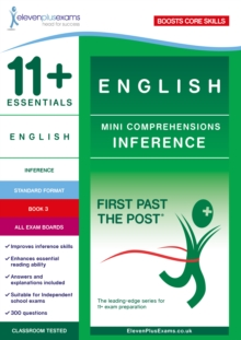 Image for 11+ Essentials English Mini Comprehensions: Inference Book 3