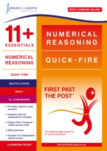Image for 11+ Essentials Numerical Reasoning: Quick-Fire Book 1 - Multiple Choice