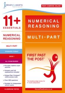 Image for 11+ Essentials Numerical Reasoning: Multi-Part Book 1