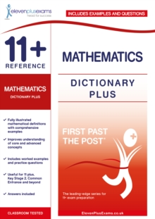 Image for 11+ Reference Mathematics Dictionary Plus