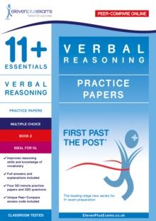 Image for 11+ Essentials Verbal Reasoning Practice Papers Book 2