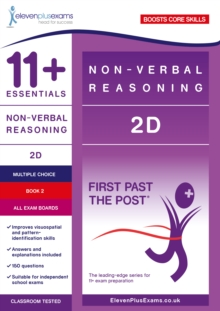 Image for 11+ Essentials Non-verbal Reasoning 2D Book 2