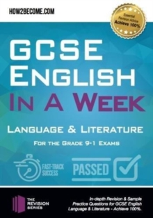 Image for GCSE English in a week  : language & literature