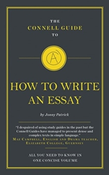 Image for The Connell Guide To How To Write An Essay