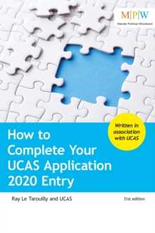 How to complete your UCAS application  : 2020 entry - Le Tarouilly, Ray