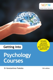 Getting into psychology courses - Foskolos, Dr Konstantinos
