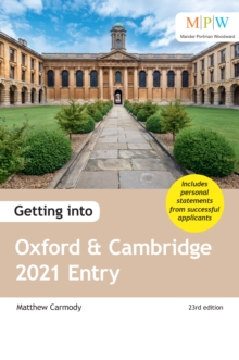 Getting into Oxford and Cambridge 2021 entry - Carmody, Mat