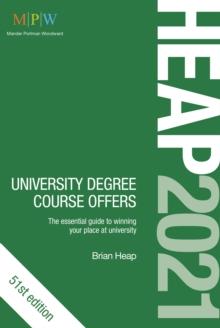 HEAP 2021  : university degree course offers - Heap, Brian