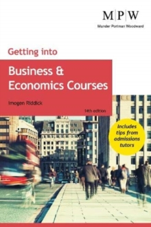 Getting into business and economics courses - Riddick, Imogen
