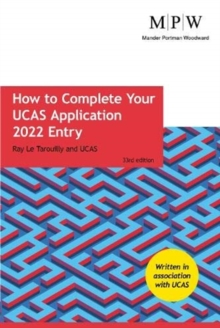 How to complete your UCAS application  : 2022 entry - Le Tarouilly, Ray