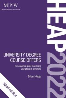 HEAP 2022  : university degree course offers - Heap, Brian