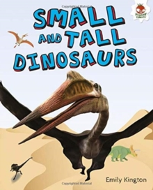 Image for Small and tall dinosaurs