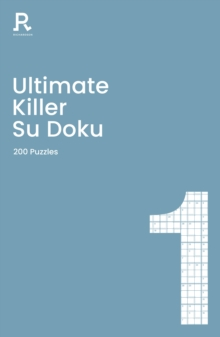 Image for Ultimate Killer Su Doku Book 1 : a deadly killer sudoku book for adults containing 200 puzzles