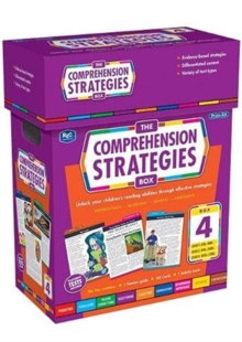 Image for The Comprehension Strategies Box 4 : Unlock your children's reading abilities through effective strategies.