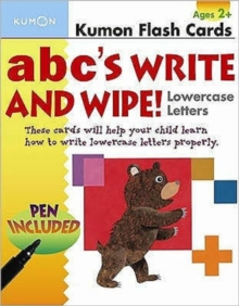 Image for ABC's Lowercase Write and Wipe Flash Cards