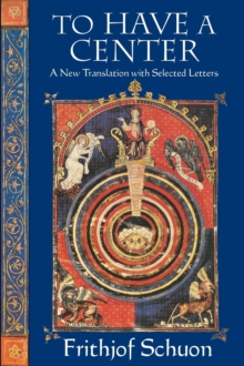 Image for To have a center: a new translation with selected letters