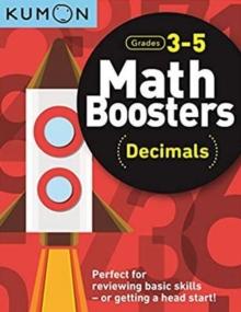 Image for Math Boosters: Decimals (Grades 3-5)
