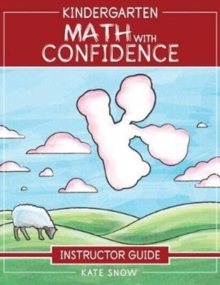 Image for Kindergarten Math With Confidence Instructor Guide