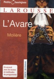 Image for L'avare
