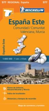 Image for Comunidad Valenciana, Murcia - Michelin Regional Map 577 : Map