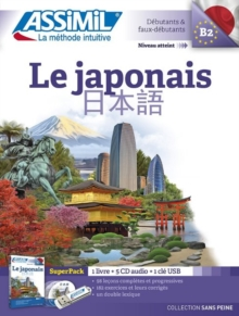 Le Japonais Superpack (Book + 4 CD audio + 1Mp3 USB)