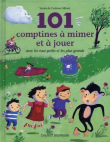 Image for 101 COMPTINES A MIMER ET A JOUER