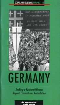 Image for Germany : Seeking a Relevant Witness Beyond Contrast and Assimilation