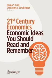 Image for 21st century economics  : economic ideas you should read and remember