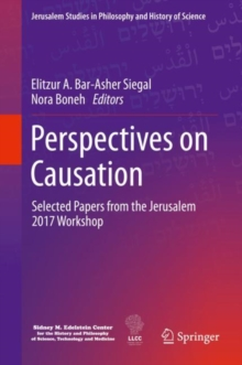 Image for Perspectives on Causation : Selected Papers from the Jerusalem 2017 Workshop