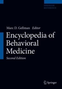 Image for Encyclopedia of Behavioral Medicine