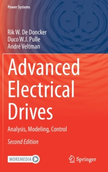 Image for Advanced Electrical Drives : Analysis, Modeling, Control