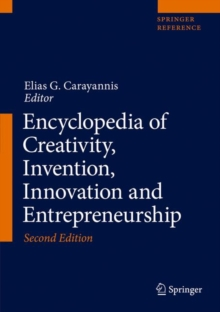 Image for Encyclopedia of Creativity, Invention, Innovation and Entrepreneurship