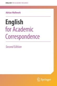 Image for English for academic correspondence