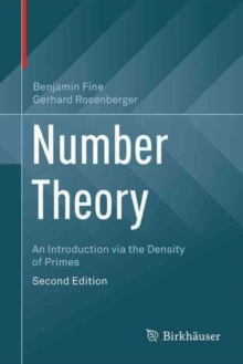 Image for Number Theory : An Introduction via the Density of Primes