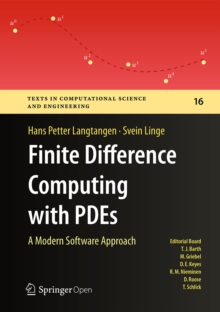 Image for Finite difference computing with PDEs: a modern software approach
