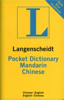 Image for Langenscheidt bilingual dictionaries : Langenscheidt pocket dictionary Mandarin C