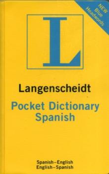 Image for Langenscheidt Bilingual Dictionaries : Langenscheidt Pocket Spanish Dictionary