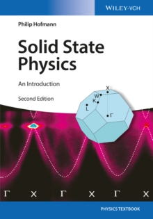 Image for Solid state physics  : an introduction