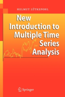 Image for New introduction to multiple time series analysis
