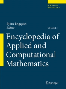 Image for Encyclopedia of applied and computational mathematics