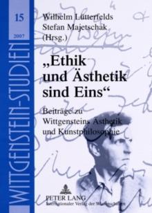 """""""ethik Und Aesthetik Sind Eins"""""""