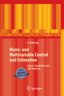 Image for Mono- and Multivariable Control and Estimation: Linear, Quadratic and LMI Methods