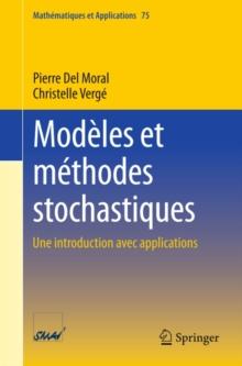 Image for Modeles et methodes stochastiques: Une introduction avec applications