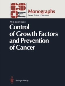 Image for Control of Growth Factors and Prevention of Cancer