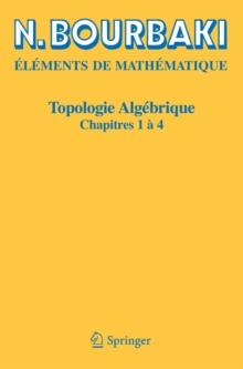 Image for Topologie algebrique: Chapitres 1 a 4