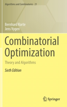 Image for Combinatorial optimization  : theory and algorithms